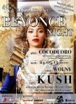 Beyonce Night - plakat