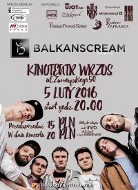 Balkanscream w Krakowie