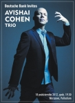 Avishai Cohen Trio w Warszawie (październik 2012)