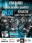 foto_eskaubei-i-tomek-nowak-quartet-krakow-harris-9-04-2016-plakat