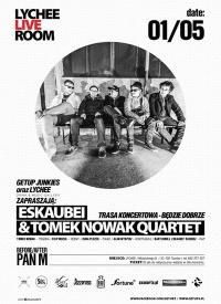 Eskaubei i Tomek Nowak Quartet w Tarnowie