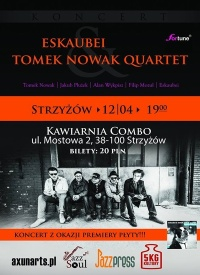 Eskaubei i Tomek Nowak Quartet w Strzyżowie