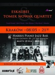 foto_eskaubei_tomek_nowak_quartet_koncert_krakow_08-05-2015_plakat