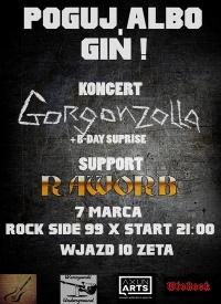 Gorgonzolla i Raworb w klubie Rock Side 99