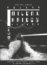 Milena Kriegs w klubie Percepcja