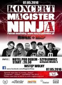 Magister Ninja w Szydłowcu