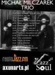 Michal Milczarek Trio The Big Game Tour 2013
