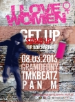 Get Up Stand Up - 8-03-2013 - plakat