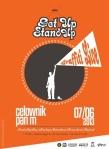 Get Up Stand Up - czerwiec 2013 - plakat - patronat