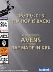 Hip-Hop Is Back plakat patronat