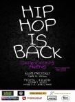 Hip Hop Is Back - Tarnow - Klub Pretekst - 8-11-2013 - plakat