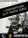 I Ogolnopolski Zlot Fanow Adele - plakat - patronat