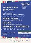 Jazz and Hip-Hop_Before live show_Rzeszow_2013_plakat