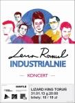 Lena Romul - Industrialnie - Torun - Lizard King - styczen 2013