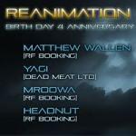Reanimation Frequency - Birthday 4 Anniversary Mix Session Vol. 01 (hard techno/pumping techno/UK techno/progressive house; 2010)
