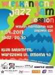 Wielkanocne Jazz Jam Session 2013 (klub Barometr, Warszawa)