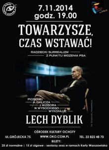 foto_lech-dyblik-koncert-7-11-2014-Warszawa-plakat