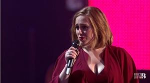 Adele po raz pierwszy...